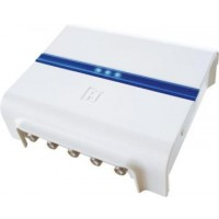 Hirschmann HMV41 4-weg antenneversterker retourgeschikt 1218 Mhz In Home CAI Versterker NIEUW