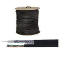 NIEUW !!! Coax kabel combikabel RG59 + UTP Cat.5E 250m op haspel