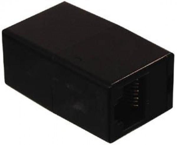Favoriete Koppelstuk netwerkkabel 2x RJ45 zwart NR61